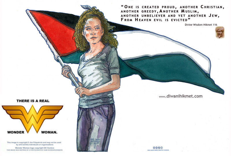 Ahed Tamimi Face of Palestinian resistance